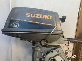 Motor fuera de borda zuzuki 4 hp 2t