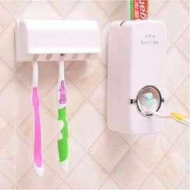Dispenser de pasta dental+ porta cepillo