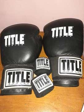 Guantes de Boxeo Title Original