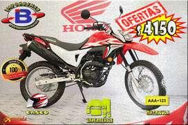 MOTOS SANTO DOMINGO//HONDA XR190L FULL INYECCIÓN CASCO MATRICULA IMPERMEABLE GRATIS//IMPORTADORA BENAVIDES