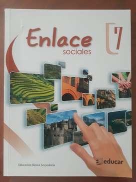 Libro Enlace 7 Ed. Educar
