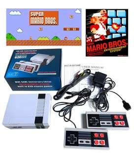 Consola mini Nintendo NES 620 juegos