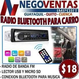 RADIO DE CARRO BLUETOOTH FIJA