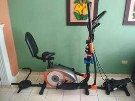 Elíptica Multifuncional Gym Factoy Fitness usada