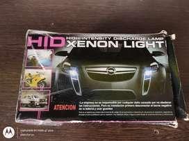 Vendo luces de xenón h7 8000k