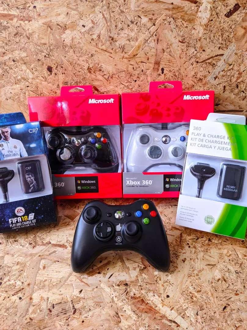 Controles para Xbox 360 y PC 0