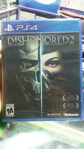 Dishonored 2 Ps4 Nuevo Sellado Stock
