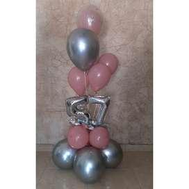 Se realizan bouquet de globos para tus celebraciones