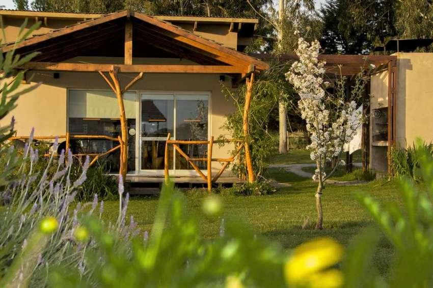 jp36 - Cabaña para 2 a 6 personas con pileta y cochera en Tandil 0