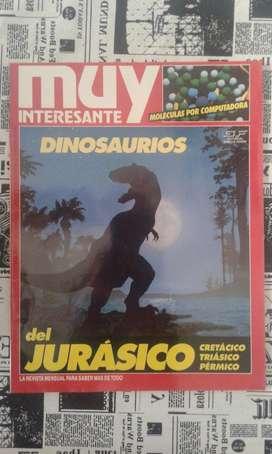 Revista Muy Interesante N94 Año 1993 Dinosaurios Del Jurásico