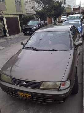 Auto Nissan Sunny, año 1996.Excelemte estado uso personal dama