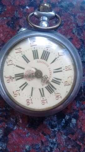 Antiguo Reloj de Bolsillo Roskopf