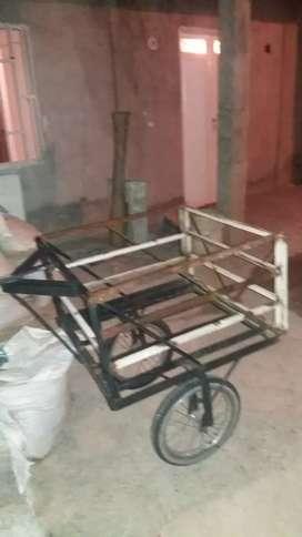 se vende carrito para instalar a moto