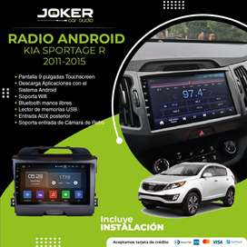 Radio para Auto Android Kia Sportage R Aceptamos Tarjeta