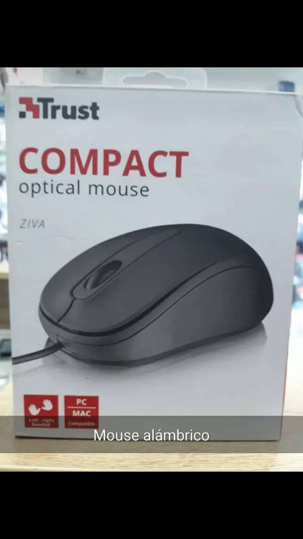 Mouse con cable trust