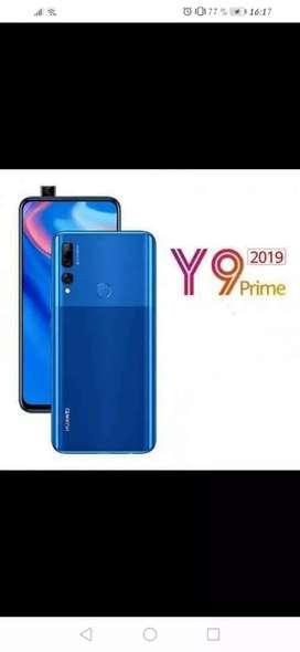 Huawei y6 2019 color azul