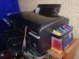 Se vende impresora Epson t50 con sistema continuo de tinta