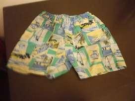 Shorts baño talle 6
