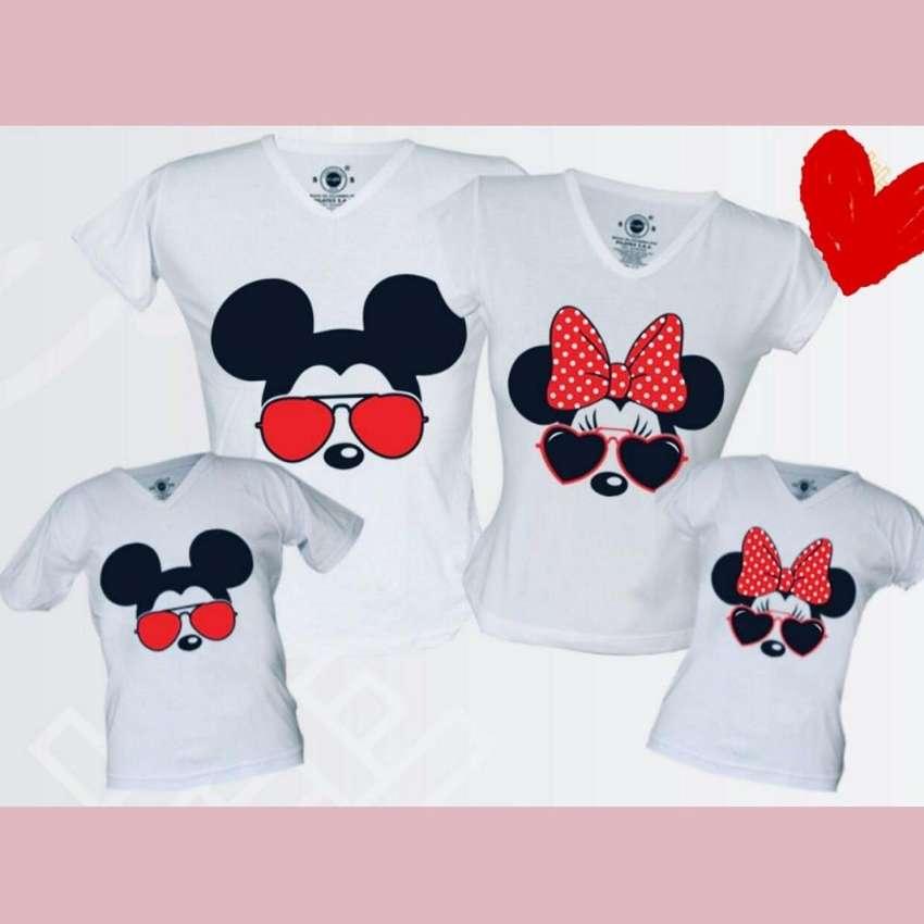 Camisetas para la familia estilo disney 0