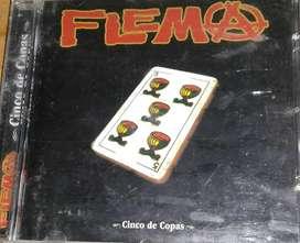 CD- Flema- Cinco de copas