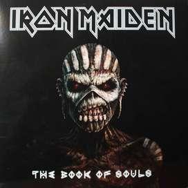 "IRON MAIDEN –LP x 3 ""The Book Of Souls"" SELLADO!"