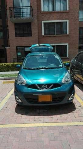 Nissan march modelo 2016 con 57.000 km, cilindraje 1.6,frenos ABS, doble airbag, vidrios eléctricos,aire acondicionado.