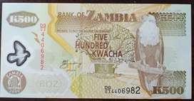 Billete de Zambia, 2006