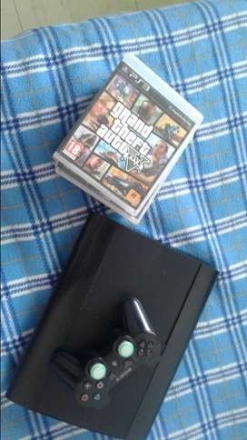 vendo ps3 super slim de 500gb en buen estado negociable