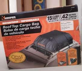 Bolsa de carga techo