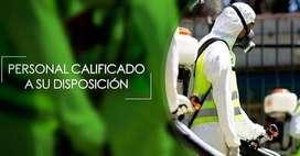 Desinfección de Ambientes - Fumigaciones Proyecto X