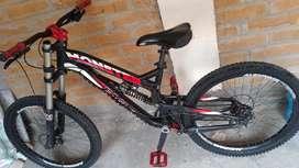 Bicicleta Monster eagle para dh