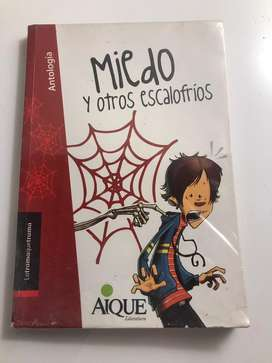 """Antologia """"Miedo y otros escalofrios"""""""