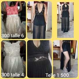 Vestidos de nenas y un monito con tul