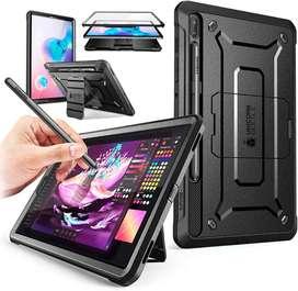 Case Galaxy Tab S6 T860 T865 (2019) Funda Estuche Protector 360° Con Apoyo Supcase UB Pro