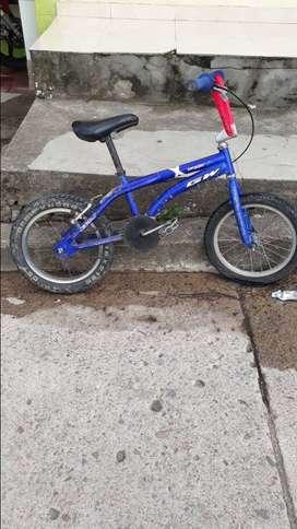 Bicicleta GW pequeña