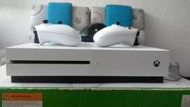 Xbox one S 1 terá de disco duro dos controles precio negociable ofrezcan ?