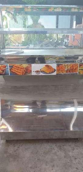 Vendo vitrina de fritos