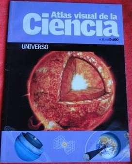 ATLAS VISUAL DE LA CIENCIA UNIVERSO ED. SOL90 en LA CUMBRE PUNILLA