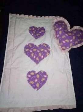 Última colchita de bebé para nena