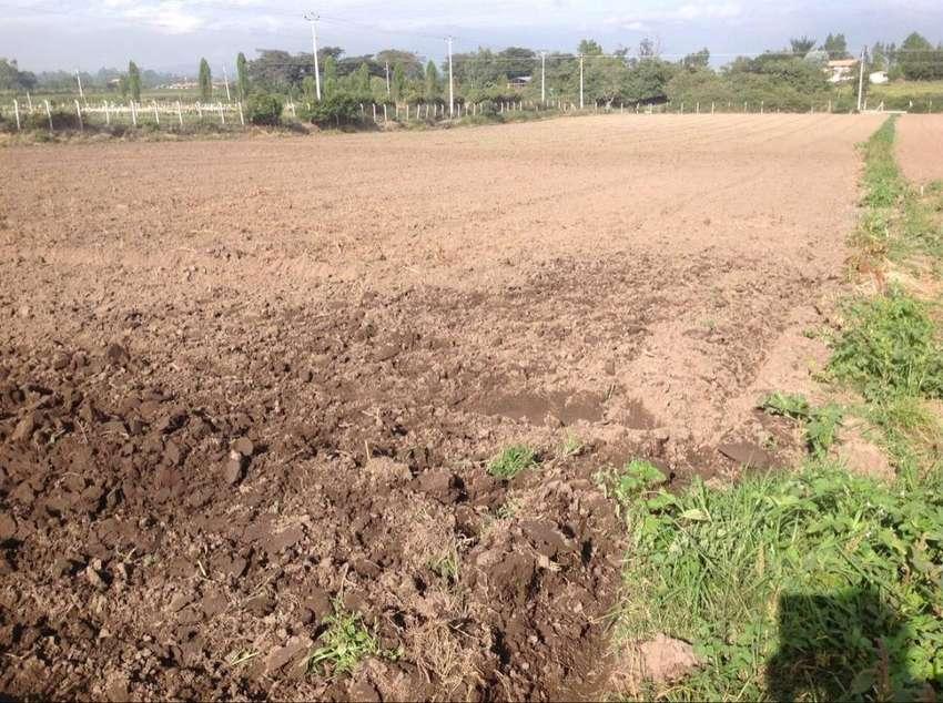 Vendo terreno Yaruqui 20.000 m2 todos los servicios 0