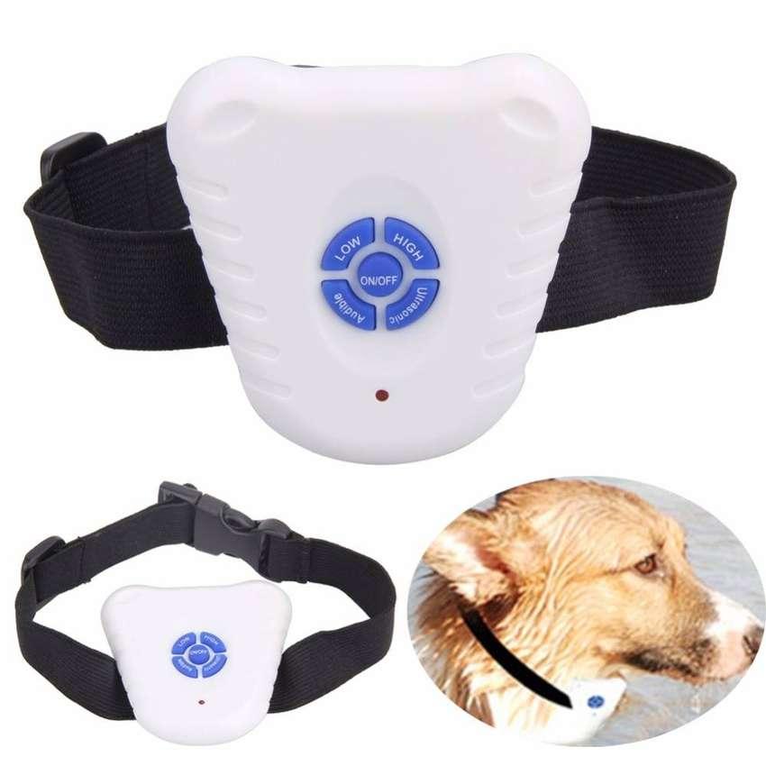 Collar Ultrasonico Anti Ladrido Perro Entrenamiento Canino