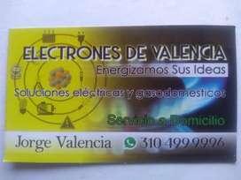 Servicio técnico eléctrico y de gas llamar al #cel: 310_4999996