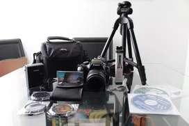 Canon T3 con accesorios