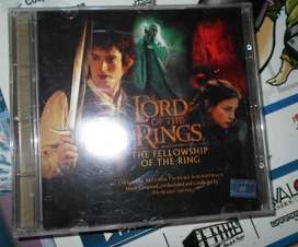 THE LORD OF THE RINGS THE FELLOWSHIP OF THE RING ORIGINAL SOUNDTRACK