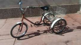 Bicicleta Triciclo para adultos o Reparto