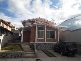 Casa en Anticresis en Ibarra sector Ejido de Caranqui