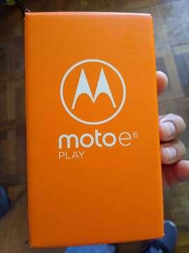 Moto e6 nuevo