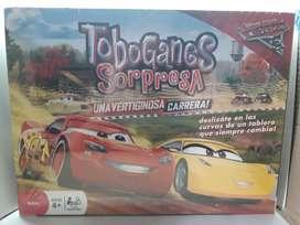 """Juego de mesa """"toboganes car's 3"""