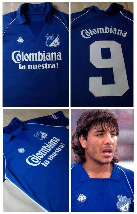 Camiseta Millonarios Retro 86 Funes 0