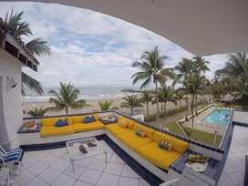 Espectacular Casa Frente a La Playa en Renta USD 350 Diarios, Casa Blanca, Centro de Same